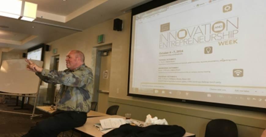Innovation and Entrepreneurship Week October 4-7 2016